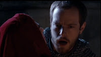 Merlin The Tears of Uther Pendragon screencaps images photos pictures Morgana kills guard castle Katie McGrath screengrabs