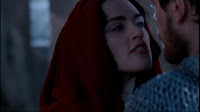 Merlin The Tears of Uther Pendragon Morgana kills guard cloak Katie McGrath screencaps images photos pictures screengrabs