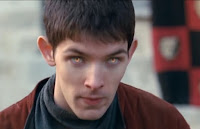 Merlin The Tears of Uther Pendragon screencaps images photos pictures screengrabs Colin Morgan yellow golden magic eyes