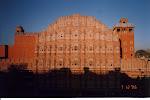 Vindarnas palats i soluppgång, Jaipur