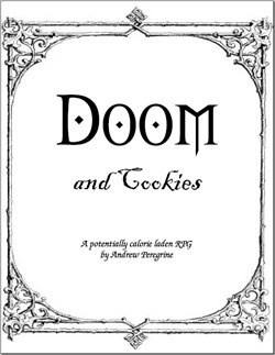 The sun won't come out tomorrow in Doom and Cookies by Andrew Peregrine
