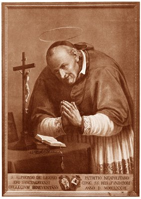 +  Portraits of St. Alphonsus  +