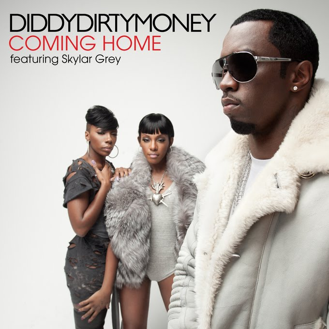 Diddy Dirty Money - Coming Home (Official Single Cover)