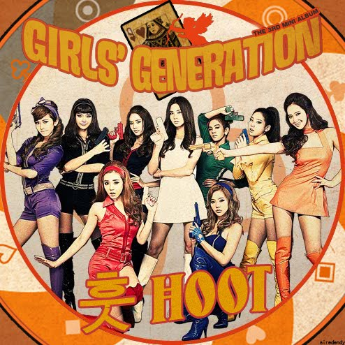 Girls' Generation - Hoot (FanMade Album Cover). Made by siredendy