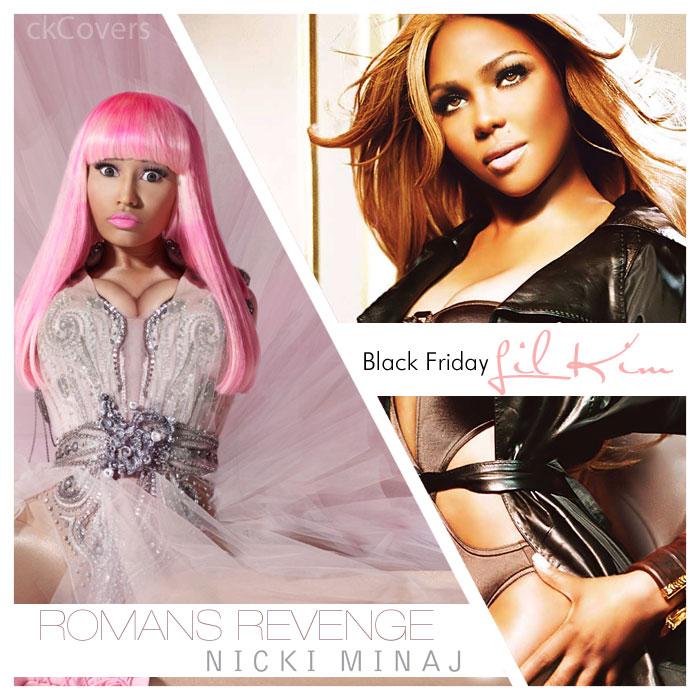 eminem nicki minaj romans revenge. Lil#39; Kim and Nicki Minaj