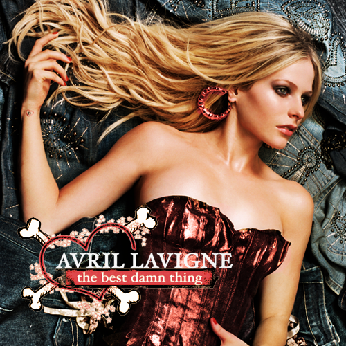 Cover s avril lavigne the best damn thing fanmade album cover