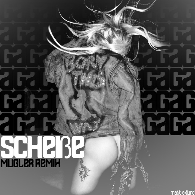 Lady GaGa - ScheiBe is an exclusive remix of a track from her anticipated
