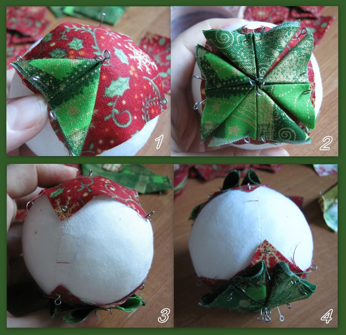 Новогодние шары с своими руками пошаговое