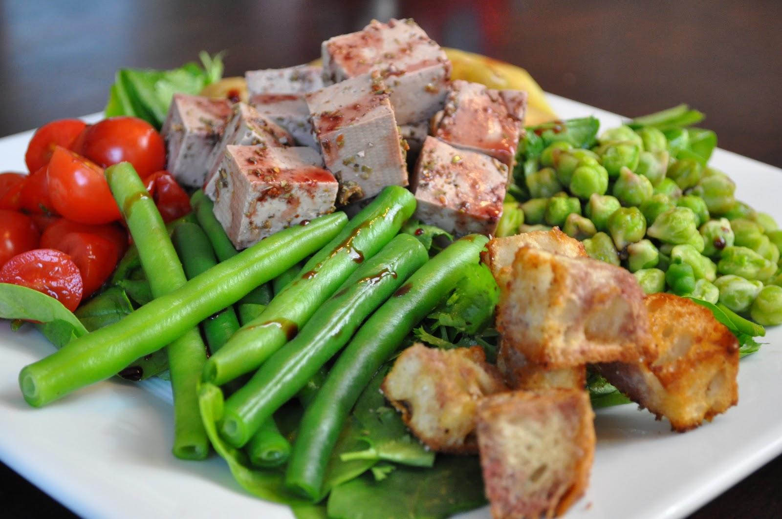la pure mama.: Vegan Nicoise Salad