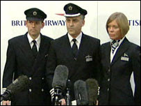 Crew of British Airways Flight 38
