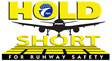 ALPA Hold Short for Runway Safety logo
