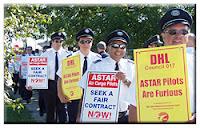 ASTAR Air Cargo pilots