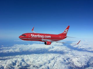 Sterling Airlines B737