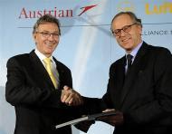 Austian Airlines-Lufthansa