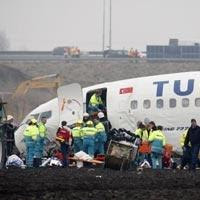 Turkish Airlines accident at Amsterdam