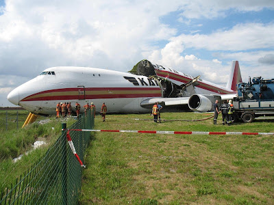 Kalitta B747 Brussels, AAIU photo