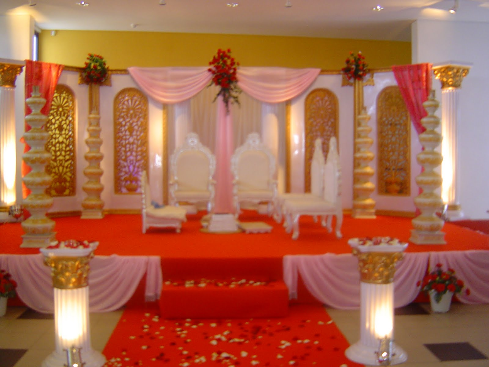 Wedding decoration indian wedding decorations for Decoration or