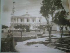 Plaza de Armas y Templo de Nasca  en 1939.