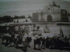 Plaza de Armas y Templo de Nasca hacia 1911.