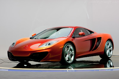 McLaren MP4-12C Photos