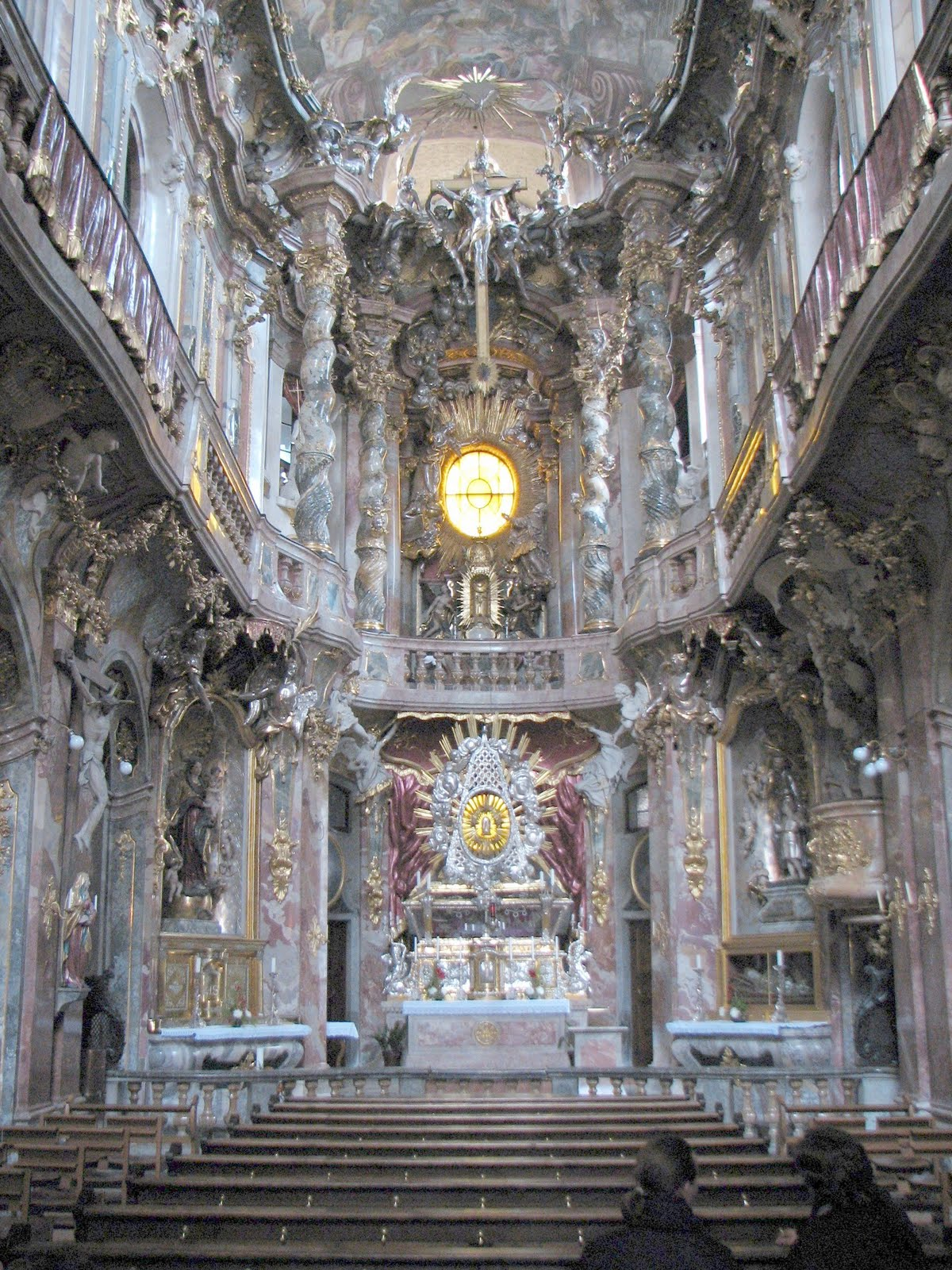 Baroque Architecture Interior Church The Interior Is Even More
