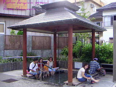 Spa dos pés no Japão