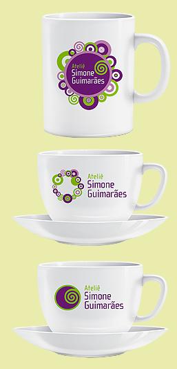 Criação de Identidade Visual + aplicações para o Ateliê Simone Guimarães