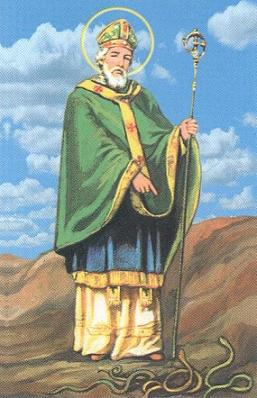 SAN PATRICIO: Santo Patrono de Irlanda, Patrono de New York, de Boston y de Nigeria (Africa)