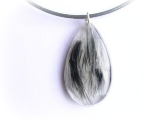pet hair jewellery
