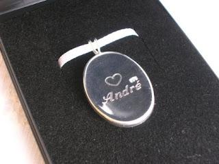 hair keepsake pendant