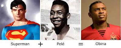 Matemática dos Famosos - Superman + Pelé = Obina