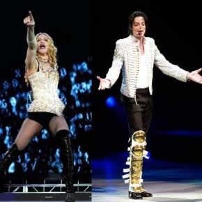 Madonna planejava dueto com Michael Jackson