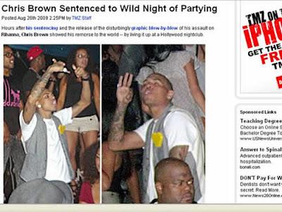 Chris Brown viola condicional e polícia faz alerta