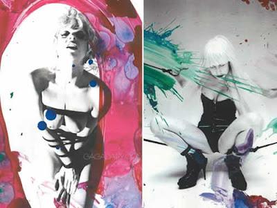 Topless: Lady Gaga com seios de fora