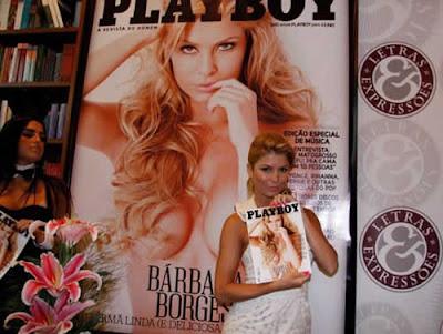 Bárbara Borges na Playboy: Lançamento