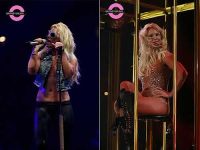 Britney Spears: Barriga sarada