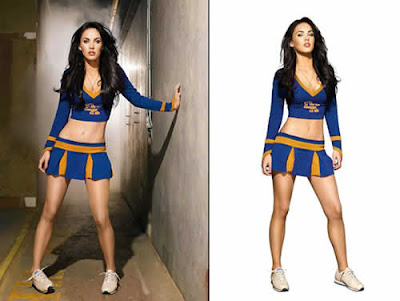 Fotos de Megan Fox de cheerleader