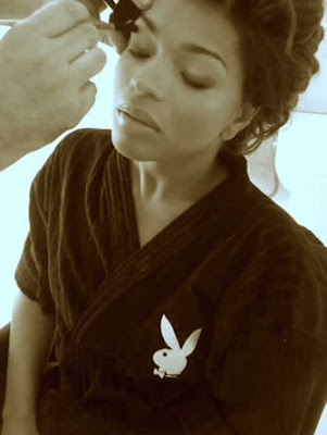 Juliana Alves na Playboy: Fotos dos bastidores