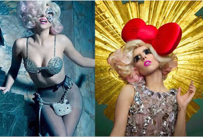 Lady Gaga sexy para Hello Kitty