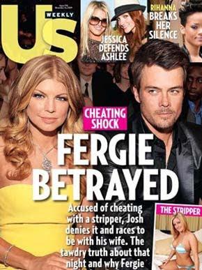 Stripper confirma que fez sexo com marido de Fergie