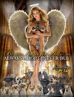 Joanna Krupa nua em campanha da PETA