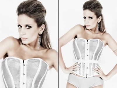 Luísa Mell: Sexy para Réveillon