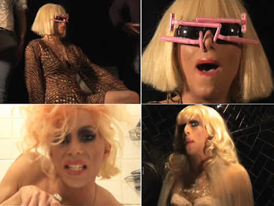 Video: Travesti faz paródia de Lady Gaga