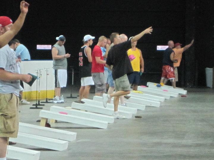 Cornhole classic an indoor success adrenaline sports management