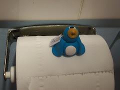 My Pengie on it's toilet roll