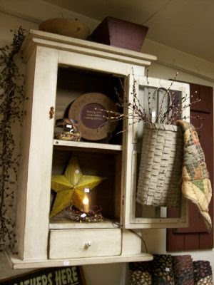 Wall Cabinet w/screen door (item 4) & Backwoods Country Primitives Furniture u0026 Goods: Wall Cabinet w ...