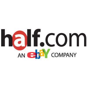 Half.com logo vector