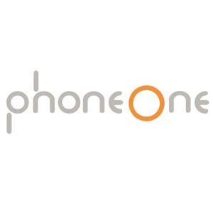 Phone one logo vector