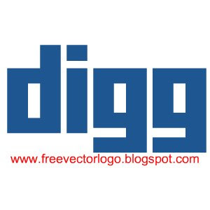 Digg logo vector