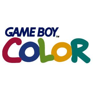 Game boy color logo vector